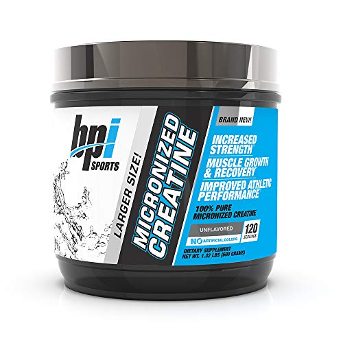 Bpi Sports Micronized Creatine Unflavored, 600 g