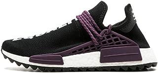 2018 Human Race Running Shoes Pharrell Williams Hu Trail Cream Core Black Nerd Equality Holi Trainers Mens Women Sports Sneaker 36-45
