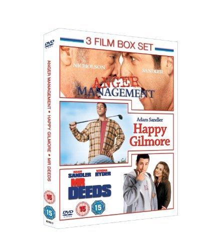Anger Management/Mr Deeds/Happy Gilmore [DVD] by Adam Sandler
