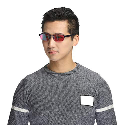 CYONGYOU Corrección de Las Gafas de daltonismo Gafas de Debilidad del Color de Las Mujeres Gafas de Sol daltonismo Gafas de daltonismo
