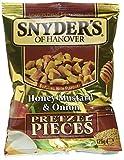 "Snyder's of Hanover Honey, Mustard & Onion"" Pretzel Snacks, 10 Packungen -"