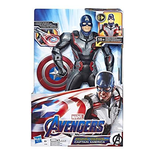 Avengers - Capitán América Figura Electrónica (Hasbro E33