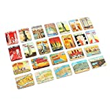 Refrigerator magnets set of 24 New York souvenirs magnetic fridge magnet home decoration accessories arts crafts