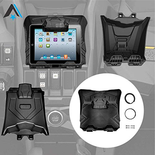 Can Am X3 Tablet Holder for iPad, Arsenal Electronic Device Holder with Integrated Storage for 2017-2019 Can Am Maverick X3