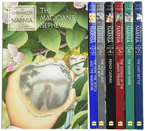 The Chronicles of Narnia Paperback 7-Book Box Set: 7 Books in 1 Box Set