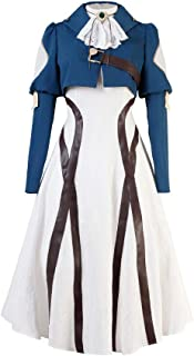 COSEASY Violet Evergarden Auto Memory Doll Cosplay Costume Long Lolita Dress Gown Uniform