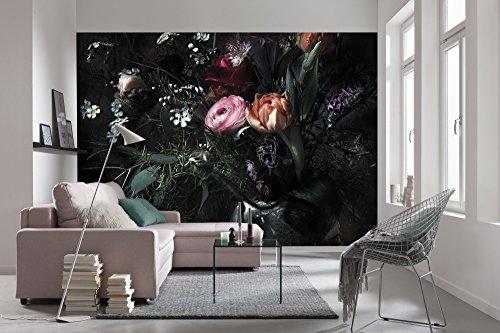 Komar - fotobehang STILL LIFE - 368 x 254 cm - behang, wand decoratie, bloemen, romantisch, kunst, roos - 8-999