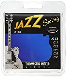 Thomastik Cordes Guitare électriques Jazz Swing Series Nickel Flat Wound Jeu JS113 Medium .013-.053w