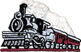 Railroad Steam Train - Embroidered Iron On or Sew On Patch