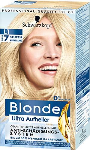 Schwarzkopf Blonde Ultra Aufheller, Haarfarbe L1, 153 ml