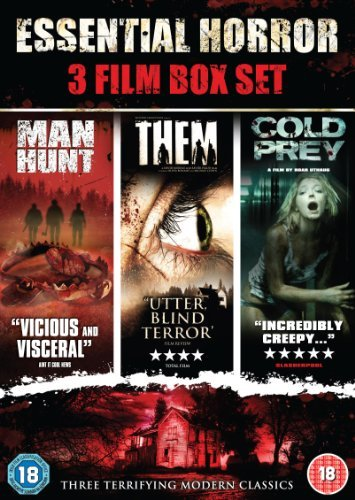The Essential Horror Boxset (Them, Manhunt & Cold Prey) [DVD] by Olivia Bonamy
