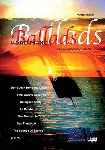More Piano Ballads: Für alle Tasteninstrumente by Wolfgang Fiedler (2001-07-01)