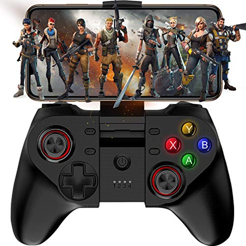 Android Game Controller, Megadream Wireless Key Mapping Gamepad Joystick Perfect for PUBG & COD, Compatible for Android Samsung Galaxy, LG, HTC, Huawei, Xiaomi Other Phone & Tablet (Not for iOS)