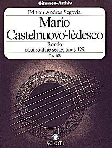 Rondo e-Moll: op. 129. Gitarre. (Gitarren-Archiv)