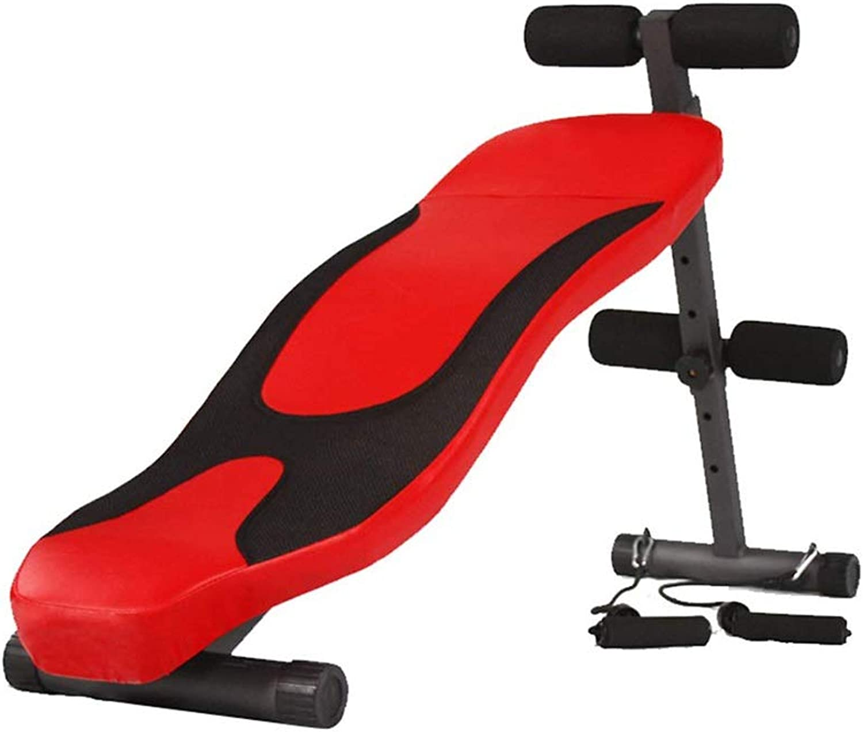 DUXX シットアップボード、屋内腹部シットアップボードフィットネス機器の最大重量250キロ(2色) トレーニングベンチ