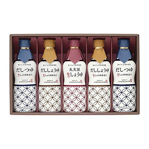 正田醤油 新鮮生しょうゆ調味料ギフト
