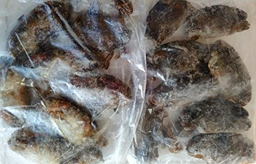 訳あり マングローブ ソフトシェルクラブ 1kg 尾約50〜70g 冷凍 脱皮蟹 業務用 バングラデシュ産