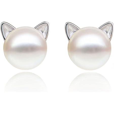 Cat Earrings Cute Cat Cute Little Kitten Sterling Silver Stud Earrings Cat Lover Silver Earrings 12 mm Cat and Heart outline ear stud