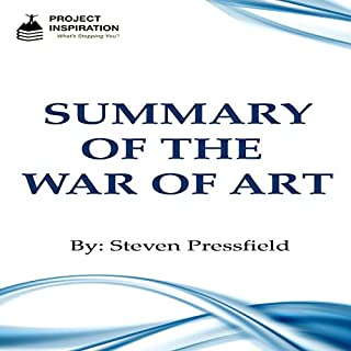 Summary of The War of Art by Steven Pressfield audiobook cover art
