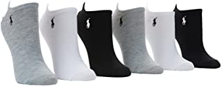 Low-Cut Sport Flat Knit Ped Socks 6-Pack
