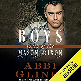 Boys South of the Mason Dixon audiobook cover art