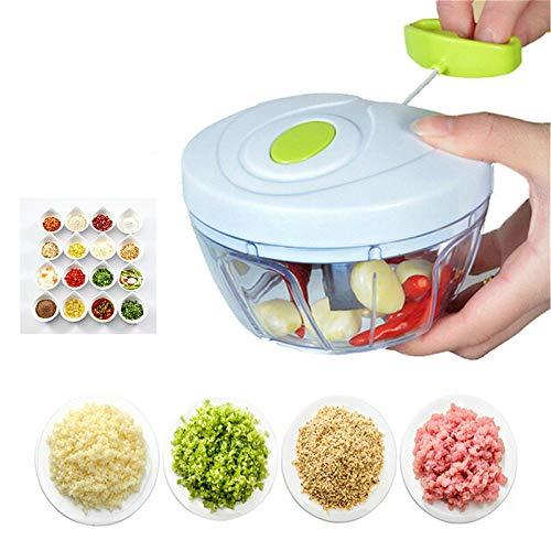 Vleesmolen Krachtige Handmatige Vleesmolen Hand-Power Voedsel Chopper Mincer Mixer Blender om Vlees Fruit Groente Noten Shredders hakken