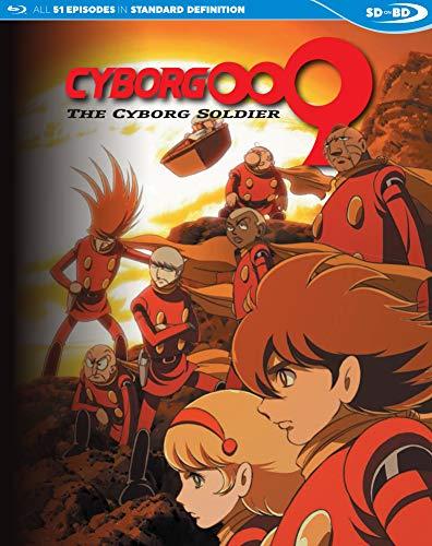 Cyborg 009: The Cyborg Soldier - Complete Series SDBD [Blu-ray]