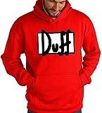 Sudadera Duff Logo CLÁSICO (M) - Todas Las Tallas Disponibles