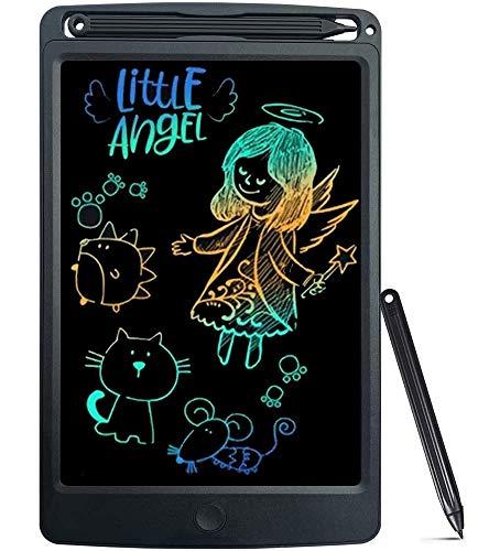 NOBES Tableta de Escritura LCD 8.5 Inch, LCD Tablero de Dibujo Gráfica Pizarra Magica de Mensaje Memo Pad Electrónico con Lápiz Regalos para Niños,Clase,Oficina,Casa,Cocina (Negro)