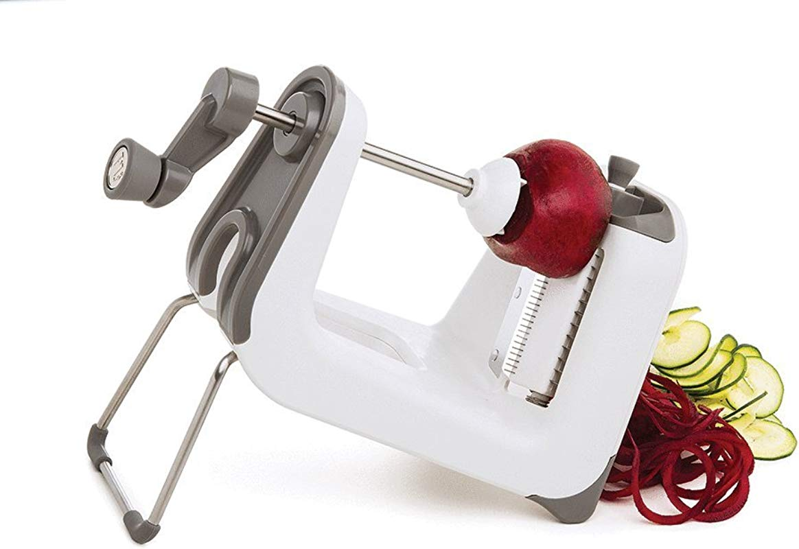 Progressive International PL8 Professional Spiralizer White