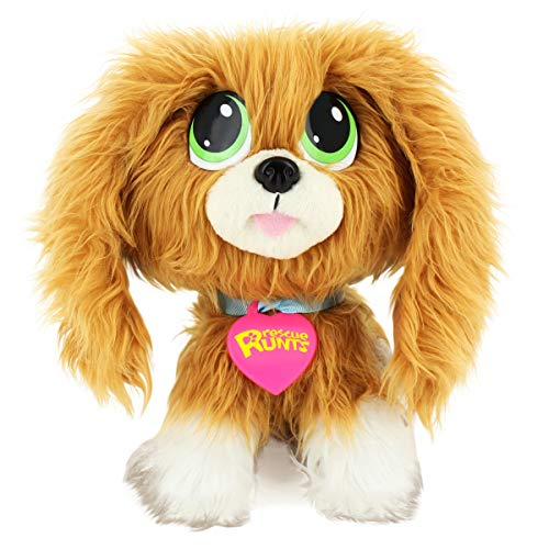 Rescue Runts-18051 Peluche Spaniel, Multicolor (Bandai 18051