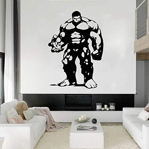 wZUN 2PCS Vinilo Infantil Comic Comic decoración Gigante increíble 42X30cm