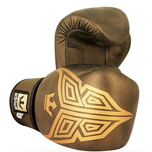 Buddha Sports GGUOXG_12 Handschuhe, Unisex, Erwachsene, Golden, Unzen