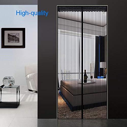 Sommerhaus Schlafzimmer Freisprecheinrichtung magnetisches Moskitonetz Türnetz Anti-Fliegen-Moskitonetz Anti-Moskitonetz Anti-Moskito-Tür Magnetfeldnetz A2 B110xH210