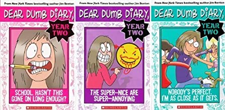 Dear Dumb Diary Year Two #1: School: Hasn't This Gone on Long Enough? / Dear Dumb Diary Year Two #2: The Super-Nice Are Super-Annoying / Dear Dumb Diary Year Two #3: Nobody's Perfect. I'm As Close As It Gets (Dear Dumb Diary Year Two)