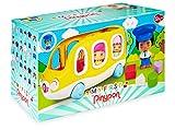 Pinypon - My First, Happy Bus, Mi primer autobús escolar y figura de conductor,...