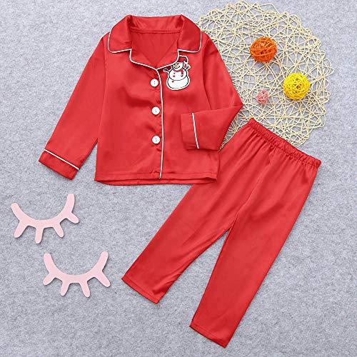 SOHOH Pijama Navidad Familiar Ropa de Navidad de los niños del muñeco de Nieve de impresión Superior del bebé Ropa de la Muchacha de 2 Piezas de otoño niño + Pantalones de la Familia de Ropa Pijamas