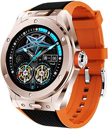 Reloj inteligente Bluetooth llamada impermeable reloj inteligente deportivo reloj inteligente para hombres y mujeres-D