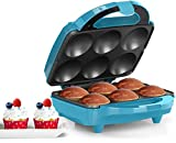 Best Cupcake Makers - Holstein Housewares 6PC Cupcake Maker 6 PC Teal Review
