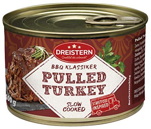 Dreistern Pulled Turkey, 400 g