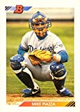 1992 Bowman Baseball #461 Mike Piazza Rookie Card. rookie card picture