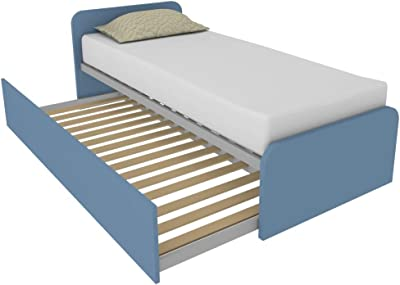 MOBILFINO CAMERETTE 964R - Cama con segunda cama extraíble ...