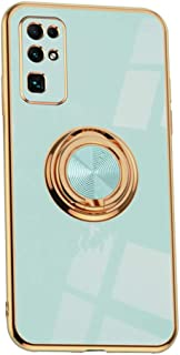 Hicaseer Case for Huawei Honor 30,Ultra-Thin Ring Shockproof Flexible TPU Phone Case with Magnetic Car Mount Resist Durabl...