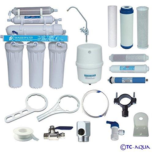 Umkehrosmose – Aquamarin RO 6 mit Mineralfilter - Wasserfilter