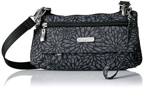 powerful Baggarini Women's Plaza Mini, Pewter Flower, One Size