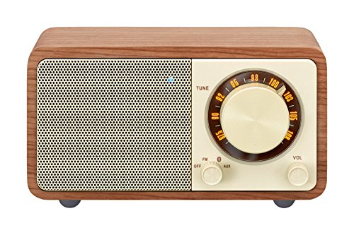Why Should You Buy Sangean WR-7WL Wood Cabinet Mini Bluetooth Speaker with FM Tuner and Aux-in Walnu...
