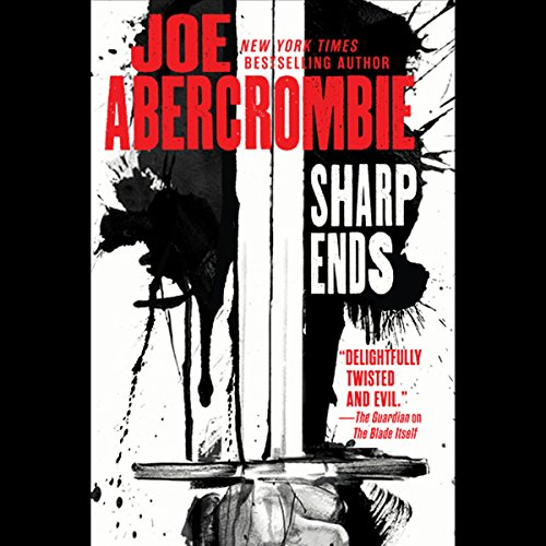 Sharp Ends audiobook cover art