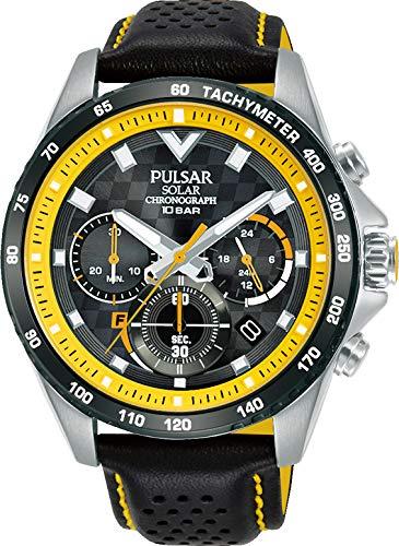 Pulsar Reloj Analógico para Hombre de Cuarzo con Correa en Cuero PZ5115X1