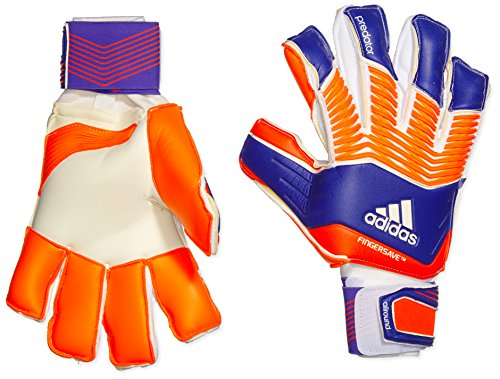 adidas Erwachsene Torwarthandschuhe Predator Zones Fingersave Allround, Night Flash s15/Solar Red/White, 10.5, M38736