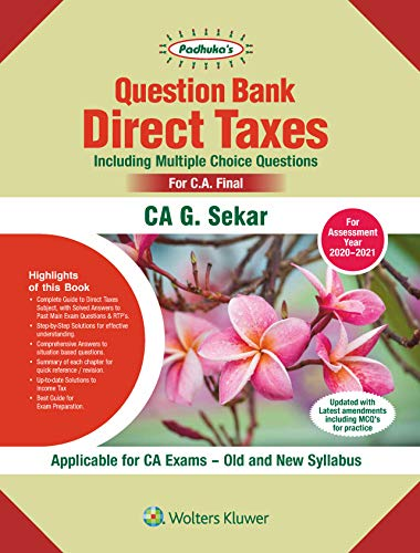 PADHUKAS QUESTION BANK ON DIRECT TAXES/3ED